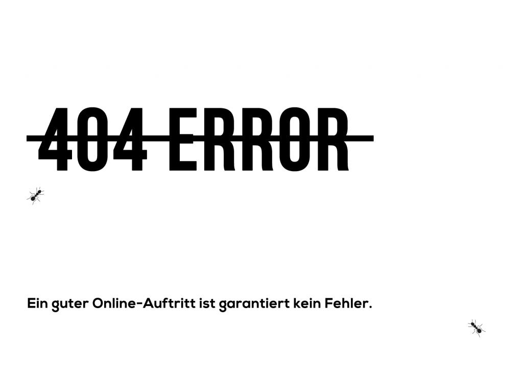 Webdesign Wien Ameisenhaufen